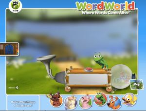 WordWorld - Rhyming