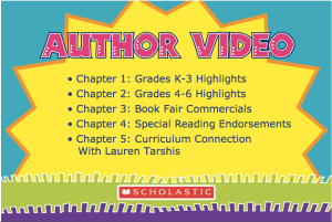 scholastic book fair video 2018 grades 4-6